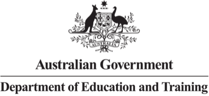 Australian Government Department of Education and Training Logo